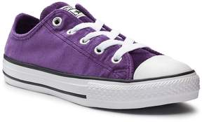 Converse Girls' Chuck Taylor All Star Velvet Sneakers