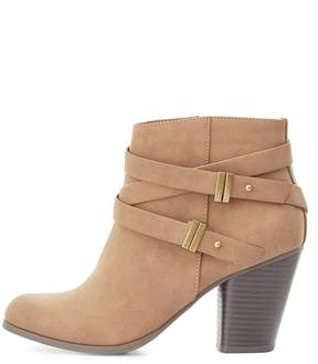 Charlotte Russe Belted Ankle Booties