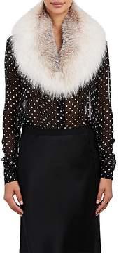 Barneys New York Women's Fox Fur Collar Scarf
