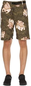 Nike Floral Cotton Shorts