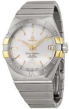 Omega Constellation Co-Axial Automatic Stainless Steel and Yellow Gold Men's Watch
