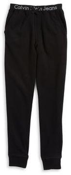 Calvin Klein Jeans Boy's Logo Accented Joggers