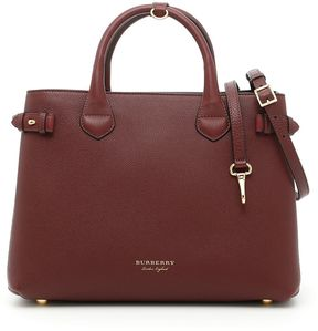 Burberry Medium Banner Bag - MAHOGANY RED|ROSSO - STYLE