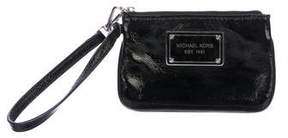 MICHAEL Michael Kors Patent Leather Zip Pouch