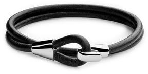 Miansai Mason Black Leather Wrap