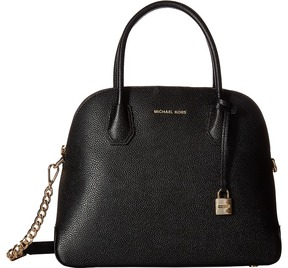 MICHAEL Michael Kors Mercer Large Dome Satchel Satchel Handbags - BLACK - STYLE