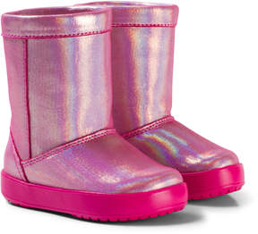 Crocs Candy Pink LodgePoint Novelty Boots