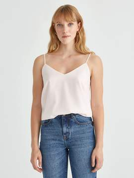 Frank and Oak The Eden Cami Slip Top in Cloud Pink