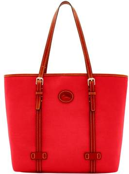 Dooney & Bourke Nylon East West Shopper Tote - RED - STYLE