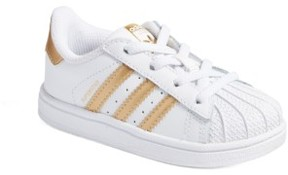 adidas Infant Girl's Superstar I Sneaker
