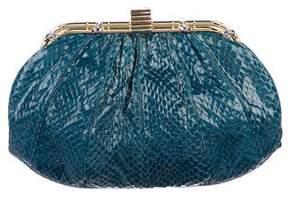 Judith Leiber Snakeskin Evening Bag