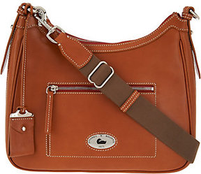 Dooney & Bourke As Is Florentine Toscana Large Crossbody Hobo - ONE COLOR - STYLE