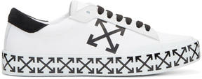 Off-White White Vulcanised Arrows Sneakers