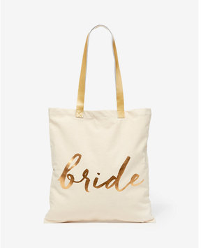 Express rosanna bride canvas tote