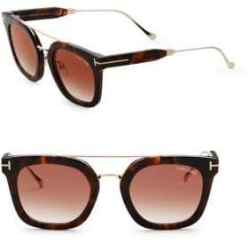 Tom Ford 51mm, Square Sunglasses