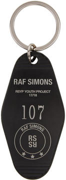 Raf Simons Black RSYP Youth Project Keychain