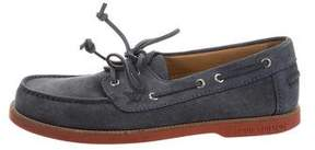 Louis Vuitton Suede Boat Shoes