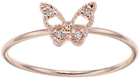 Lauren Conrad Simulated Crystal Butterfly Ring