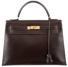 Hermes Box Kelly Sellier 32 - BROWN - STYLE
