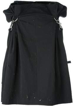 Damir Doma 'Riya' clip skirt