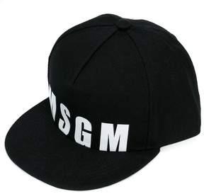 MSGM logo print cap