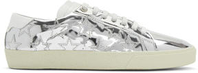 Saint Laurent Silver Court Classic SL-06 California Sneakers