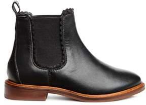 H&M Leather Jodhpur Boots