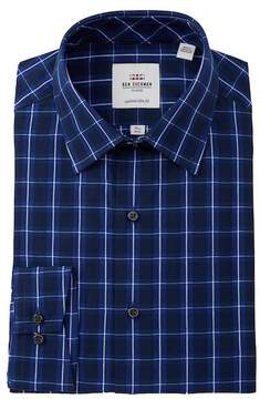 Ben Sherman Dobby Check Tailored Slim Fit Dress Shirt