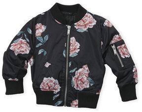 Urban Republic Infant Girls) Garden Rose Bomber Jacket