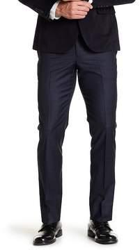 Brooks Brothers Plaid Flat Front Wool Blend Pants