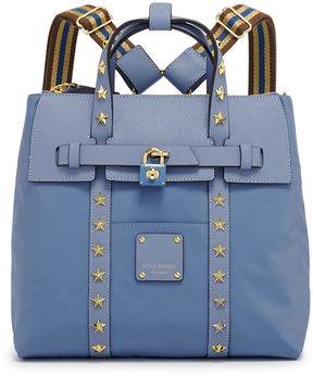 Henri Bendel Jetsetter Mini Convertible Star Studded Backpack
