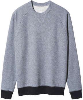 Joe Fresh Men's Lightweight Sweatshirt, Denim Blue (Size L)