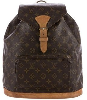 Louis Vuitton Monogram Montsouris Backpack - BROWN - STYLE