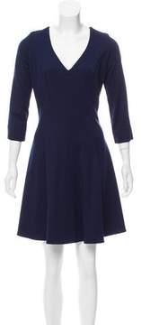 Amanda Uprichard Mini V-Neck Dress