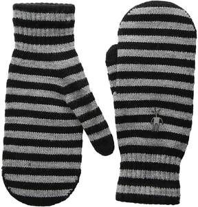 Smartwool Striped Knit Mitt Over-Mits Gloves