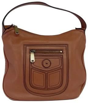 Marc Jacobs Brown Pocket Design Leather Bag - BROWN - STYLE