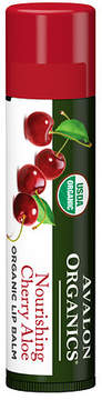 Avalon Organics Nourishing Lip Balm Cherry Aloe