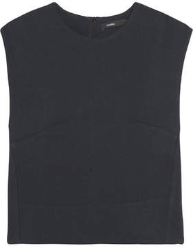Bassike Piqué Top - Midnight blue