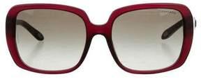 Tiffany & Co. Embellished Square Sunglasses w/ Tags