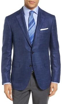 Pal Zileri Men's Plaid Wool Blend Blazer