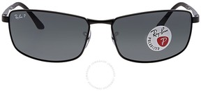 Ray-Ban Polarized Grey Gradient Men's Sunglasses RB3498 006/81