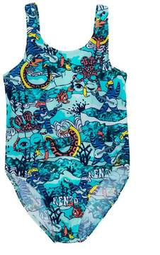Kenzo printed swimsuit