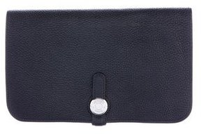 Hermes Clemence Dogon Combined Wallet - BLACK - STYLE