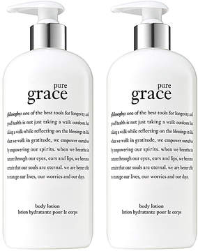philosophy Pure Grace Body Lotion - Set of Two