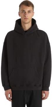 Yeezy Oversized Hooded Cotton Sweatshirt