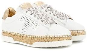 Tod's Gomma leather sneakers