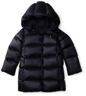 Ralph Lauren Quilted Hooded Down Coat Collection Navy 2T