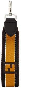 Fendi Logo-jacquard key ring