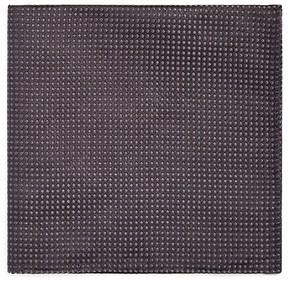 Armani Collezioni Dimensional Zigzag Pocket Square