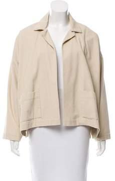 eskandar Corduroy Open-Front Jacket